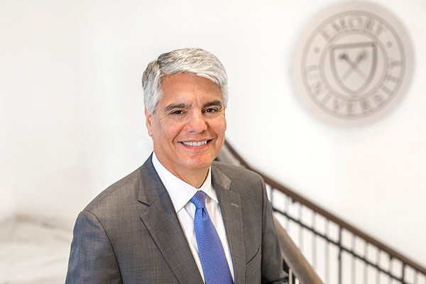 Portrait of Emory University President Fenves