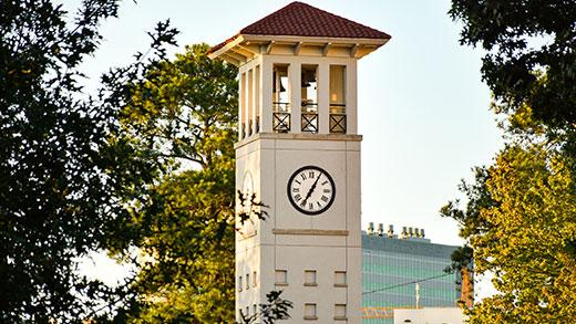 Emory University clock tower